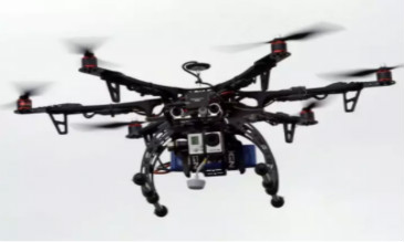 无人机高空无线传输环境监测