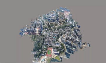 无人机航拍生成实景三维模型
