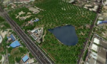 3D GIS景观模型