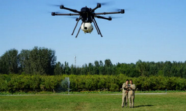 多旋翼无人机载重续航又获突破 搭载航测吊舱航时首次达60分钟