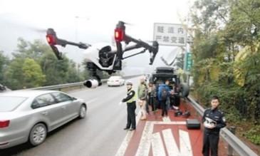 """无人机""""交警""""助力交通管理,让道路更顺畅"""