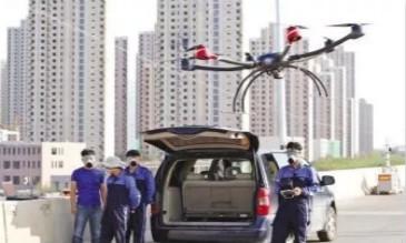 开发区海上无人机 助力渤海湾海洋环境监测