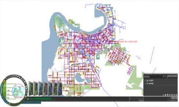 城市供水管网GIS系统