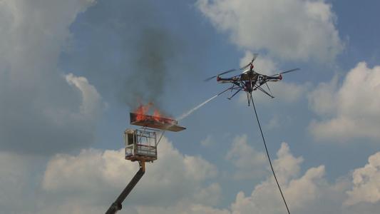 消防无人机优势