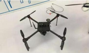 亿航和华为合作的5G无人机亮相2018中国深圳智慧城市博览会
