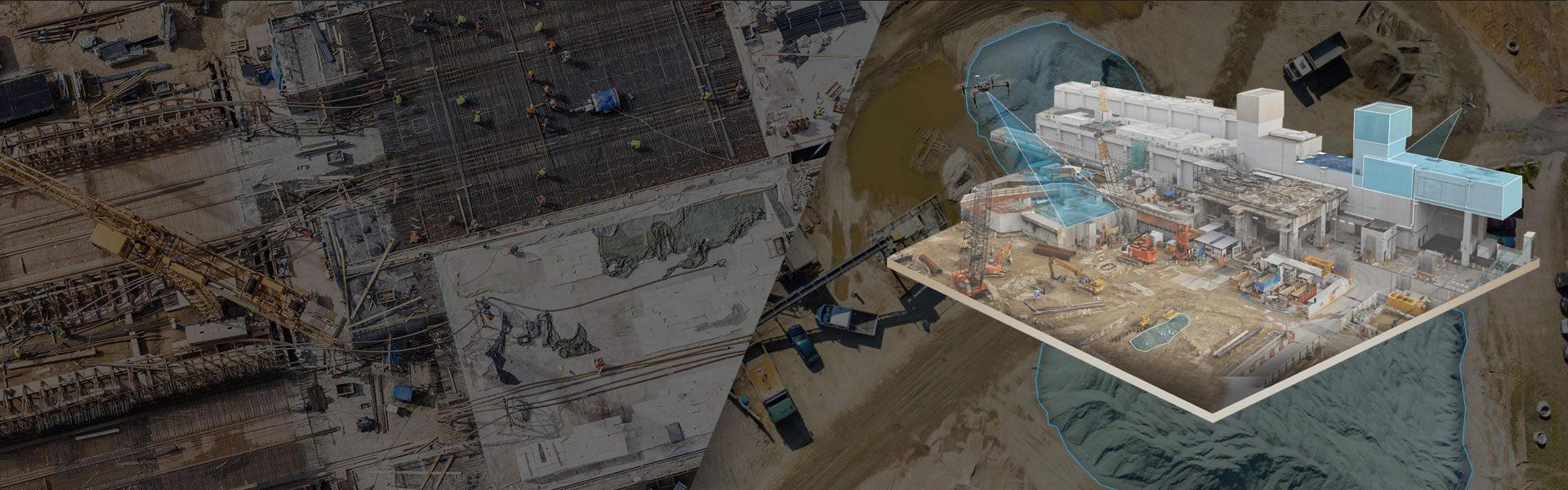 航拍建模无人机应用