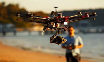 新闻航拍无人机的时代来了