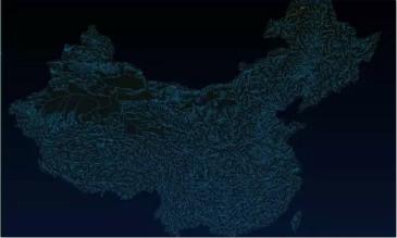 ArcGIS分析河网