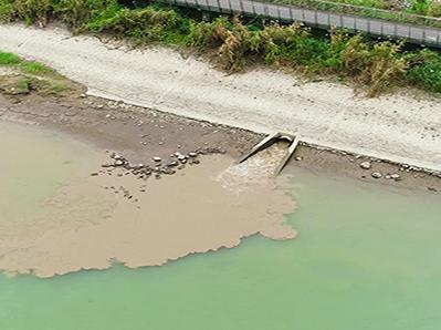 江河排污口排查