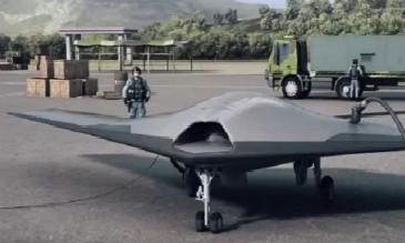 国产天鹰隐身无人机试飞 尾部控制面疑似与美B-2一样