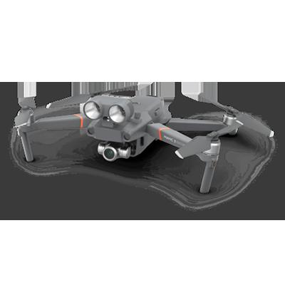 MAVIC2 警用消防救援无人机 高空喊话照明热成像无人机