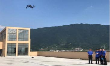 无人机上岗城市管理 执法巡查添新神器