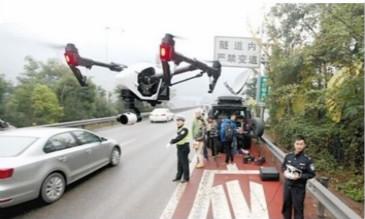 """安徽无人机""""交警""""助力交通管理,让道路更顺畅"""