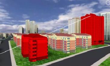 3D GIS中线与模型的空间查询