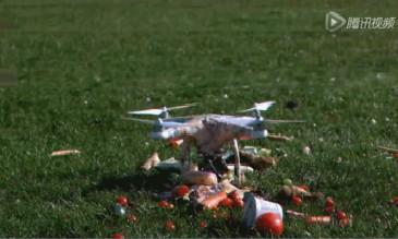 无人机最残暴的一面,画面血腥,胆小慎入