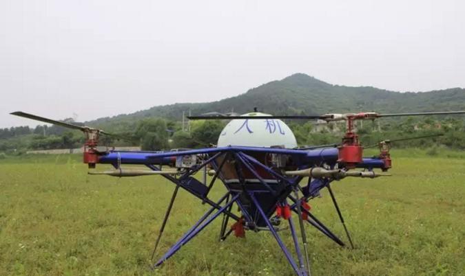 大载重长航时燃油动力多旋翼无人机今年要火?