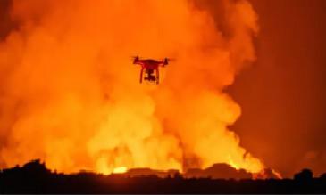 发生自然灾害时,无人机救灾尤为重要