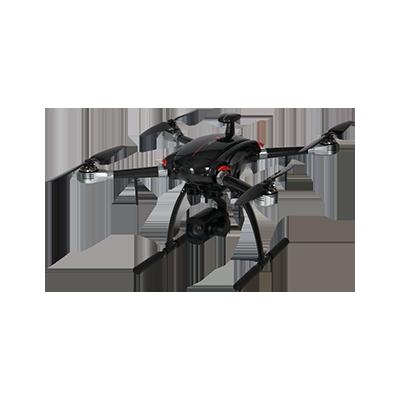 启飞应用 X820 大载重长距离 单兵用 工业安防巡检测绘无人机