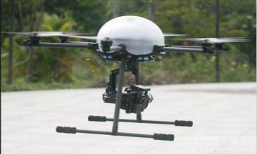 油电混合无人机环境监测应用