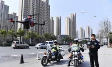 无人机群将首次助力交通管理