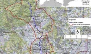 地理信息系统评估城市河道走廊