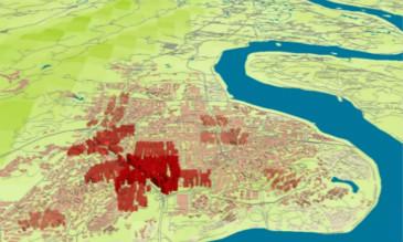 GIS的总体城市设计现状空间快速建模