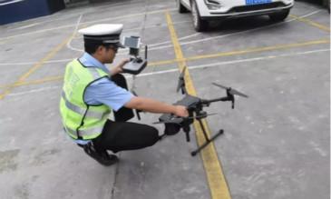 无人机投入使用 助力交通管理