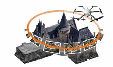 【航拍不NG教程】航拍无人机3D建模应用