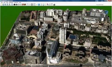 三维城市建模案例...
