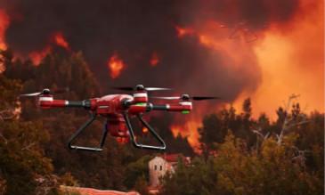 无人机消防救援