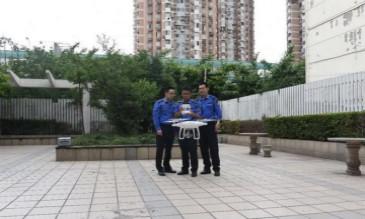 智能化城管执法——宜川城管中队无人机航拍首飞